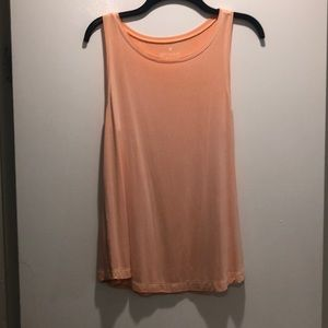 Comfy orange washed out tank